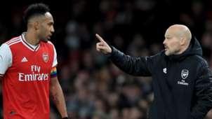 Pierre-Emerick Aubameyang Freddie Ljungberg Arsenal