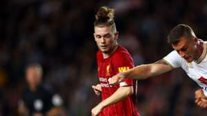 Harvey Elliott Liverpool MK Dons
