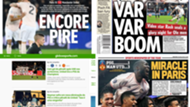 Portadas prensa PSG