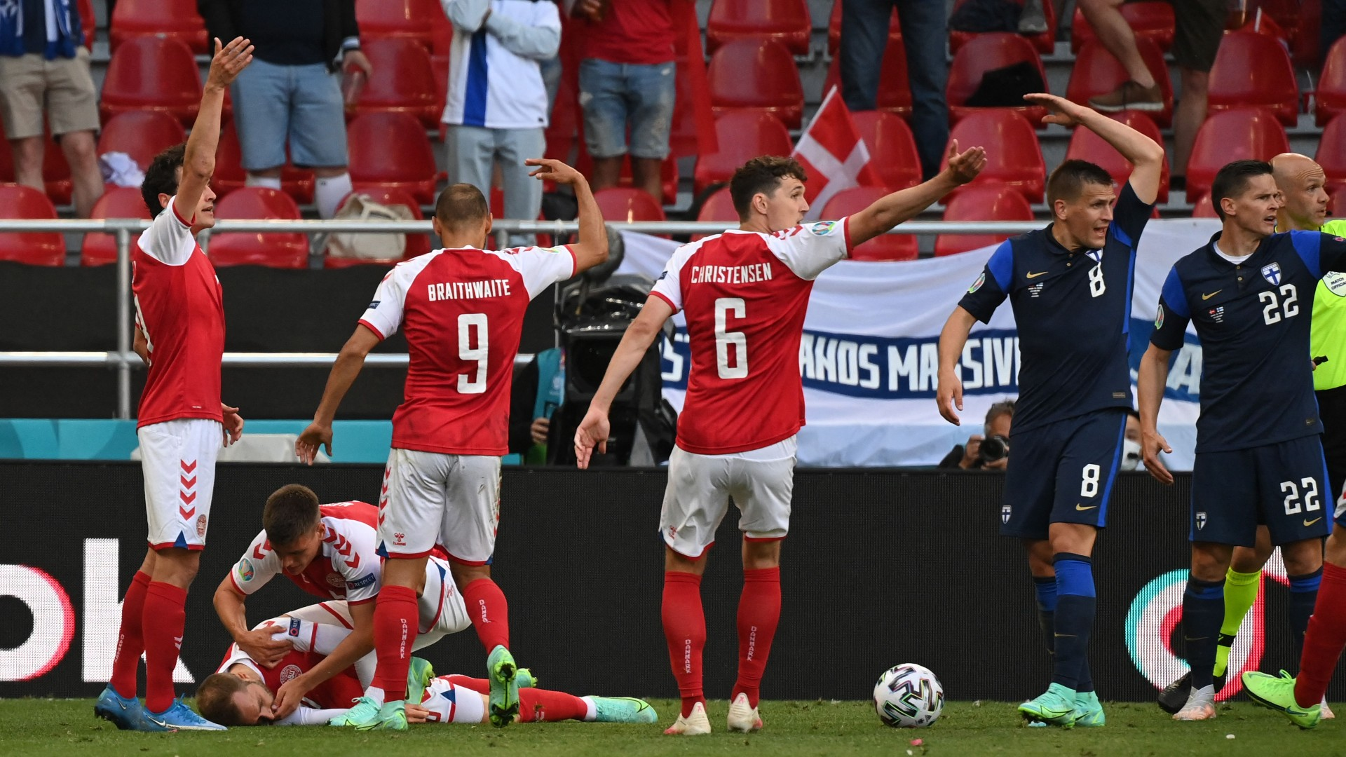 'I knew straightaway something was wrong' - Denmark-Finland referee recounts moment Eriksen collapsed on field