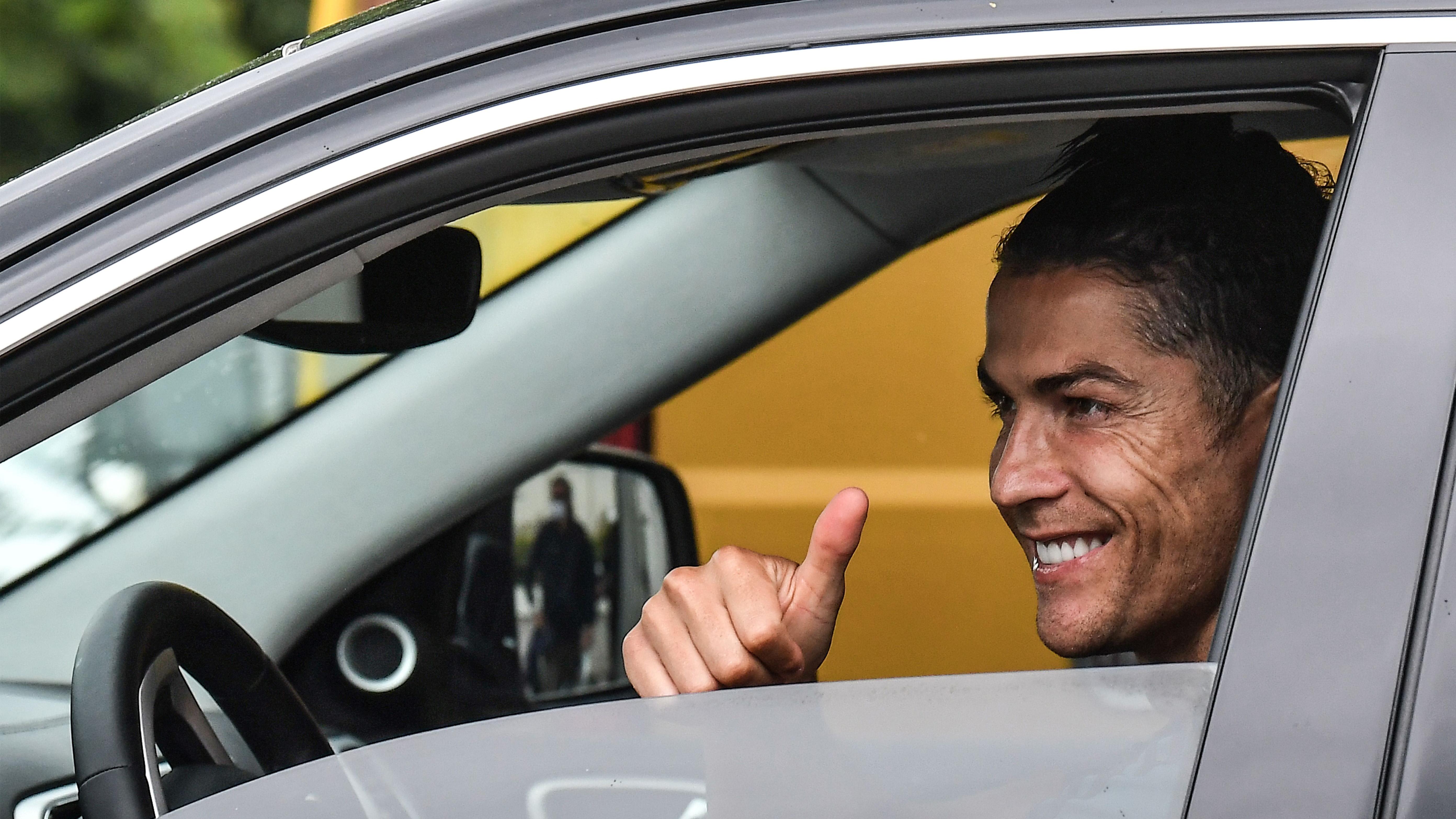 Juventus - Tests médicaux pour Cristiano Ronaldo, de retour au centre d'entraînement