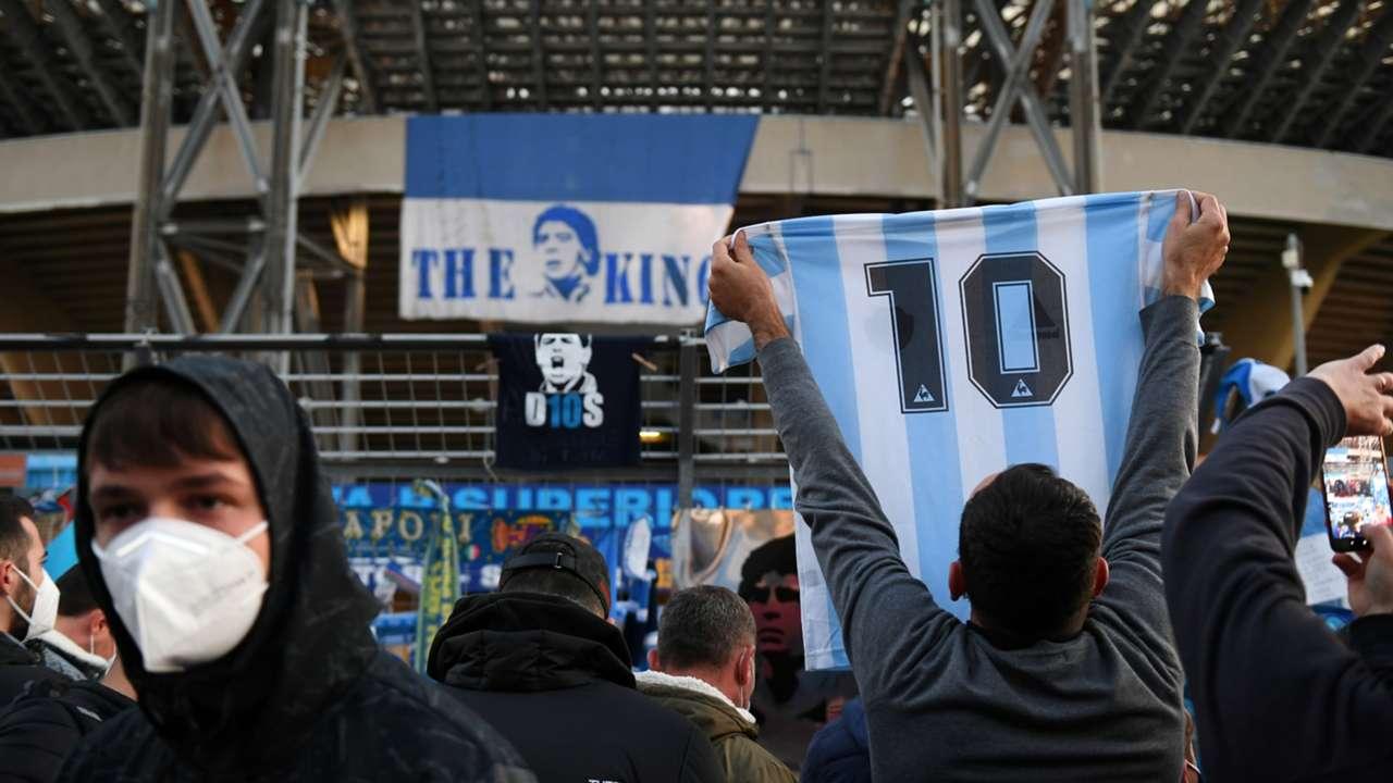 Napoli fans to honour Diego Maradona