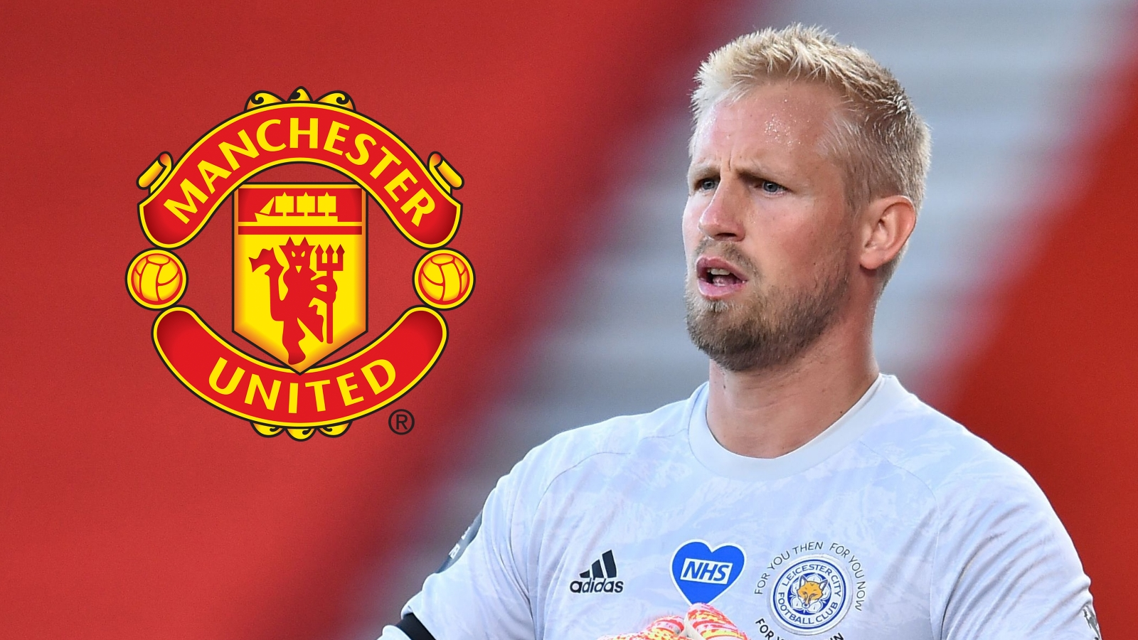 'Schmeichel's dream is to join Man Utd' - Leicester keeper 'will do anything to get to' Old Trafford, says ex-team-mate
