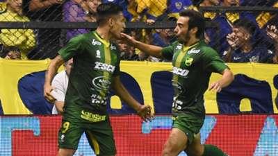 Marquez Boca Juniors Defensa y Justicia Superliga 07042018