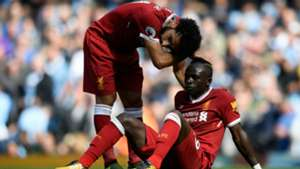 Sadio Mane Mohamed Salah Manchester City Liverpool