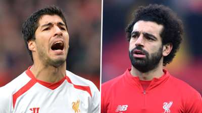 Luis Suarez Mohamed Salah Liverpool
