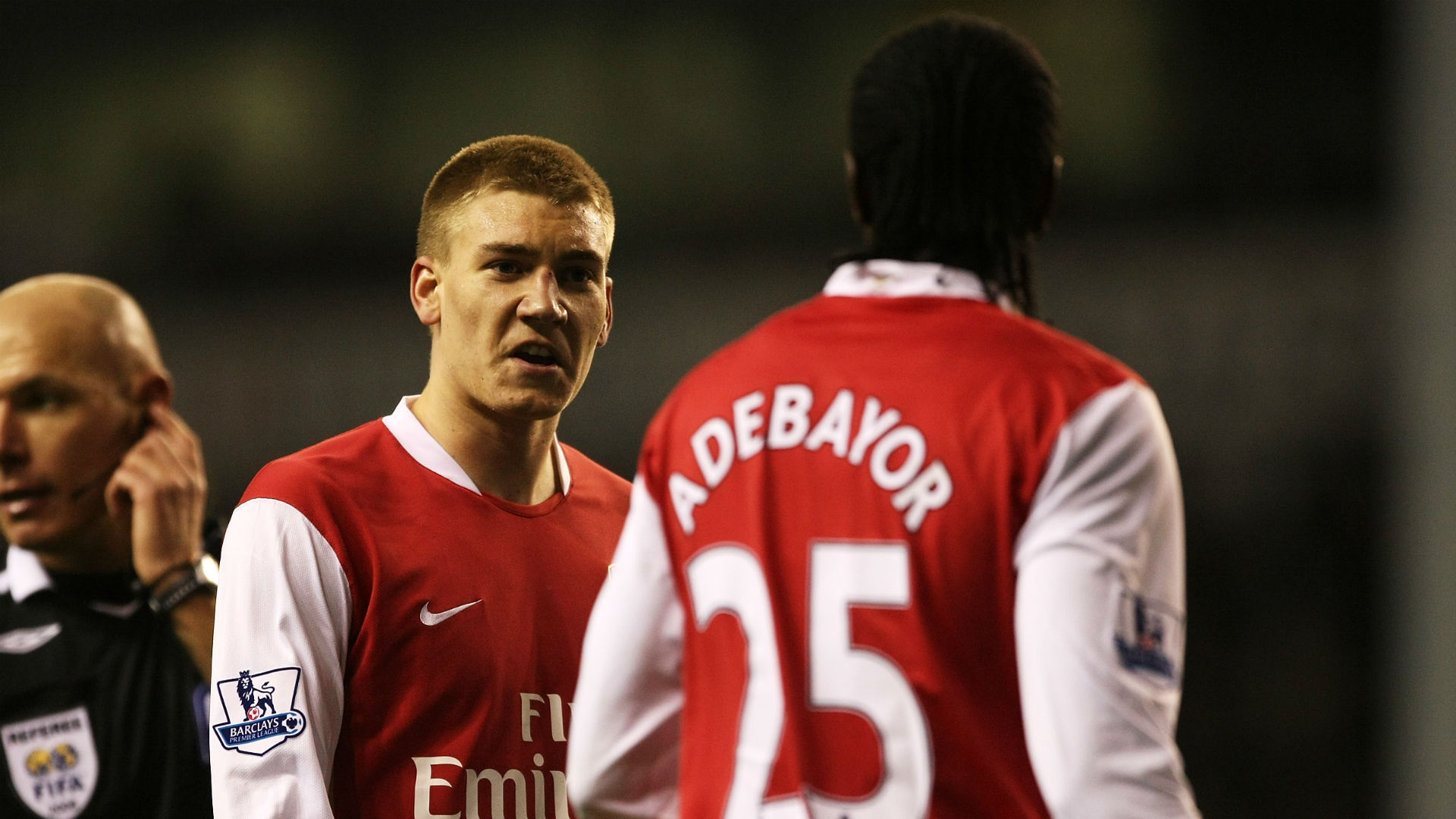 'He's not really my cup of tea' - Bendtner reflects on Arsenal rifts with Adebayor & Henry