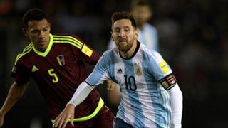 Lionel Messi Argentina Venezuela