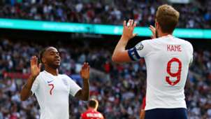 Raheem Sterling Harry Kane England Bulgaria