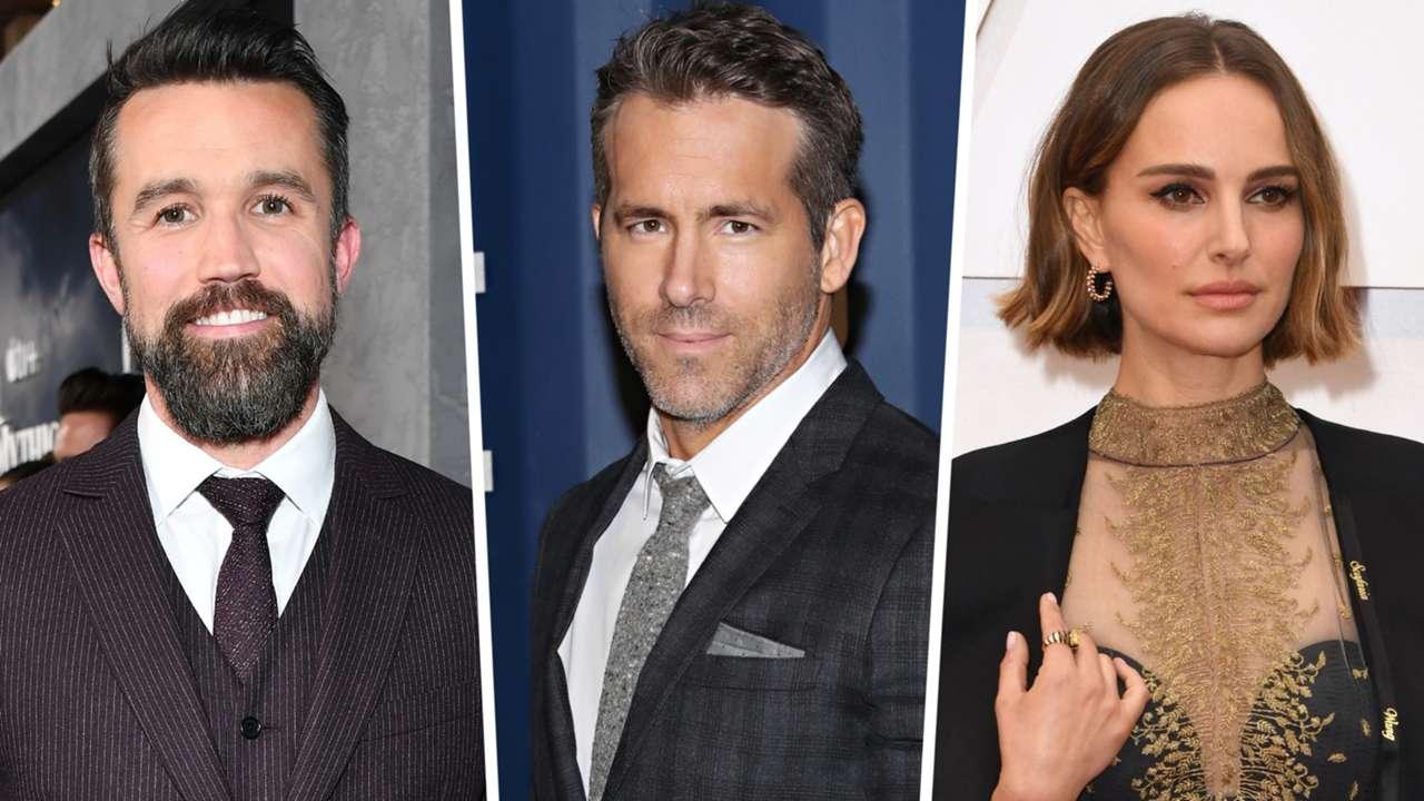 Ryan Reynolds Rob McElhenney Natalie Portman