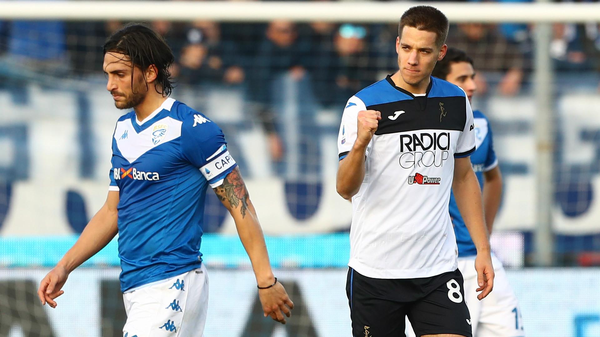 6-2 al Brescia, Atalanta a -6 dalla Juve