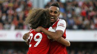 Pierre-Emerick Aubameyang Arsenal vs Tottenham 2019-20