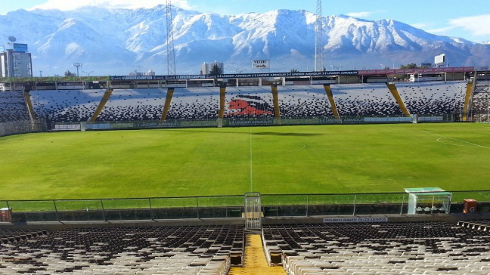Estadio Monumental fue evacuado por amenaza de bomba   Goal.com