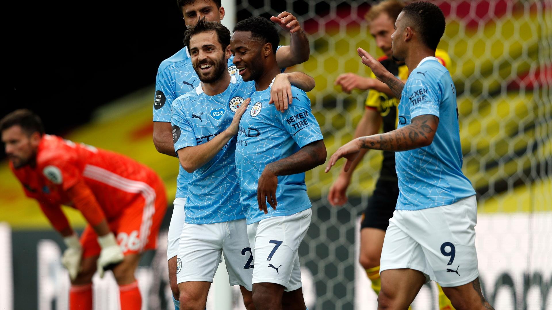 Watford - Manchester City 0-4, City s'impose avec un doublé de Sterling