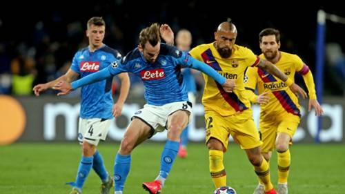 Arturo Vidal Napoli-Barcelona