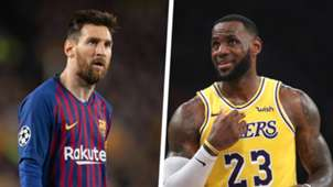 Lionel Messi LeBron James