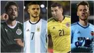 La otra lista de 23: la Selección de latinoamericanos que no van al Mundial 2018
