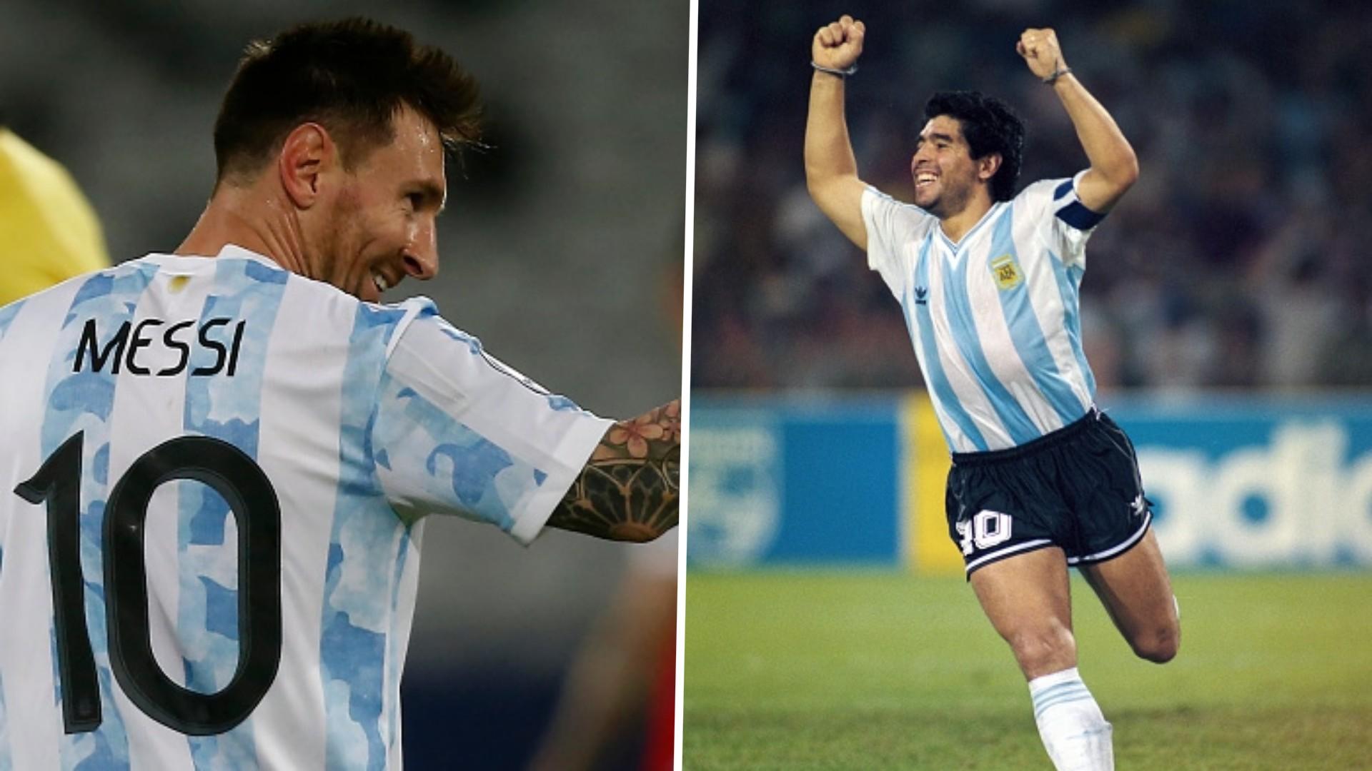 Lionel Messi four goals short of Diego Maradona's free-kick record