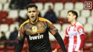 Maxi Gomez Logroñes Valencia DAZN Copa del Rey 22012020