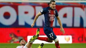 Jordan Ferri Enzo Crivelli Caen Nimes Ligue 1 05122018