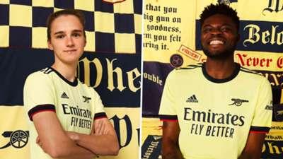 Arsenal away kit 2021-22 Adidas