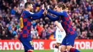 Lionel Messi Antoine Griezmann Barcelona Alavés LaLiga 21122019