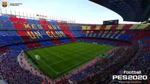 PES 2020 Pro Evolution Soccer 2020 Camp Nou Barcelona