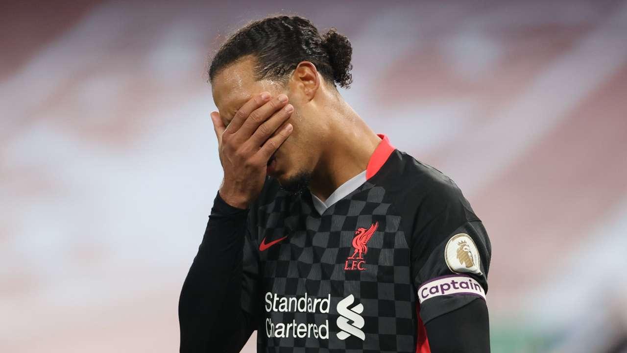 Van Dijk Liverpool 2020
