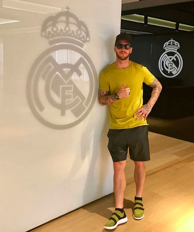 Los looks más arriesgados de Sergio Ramos