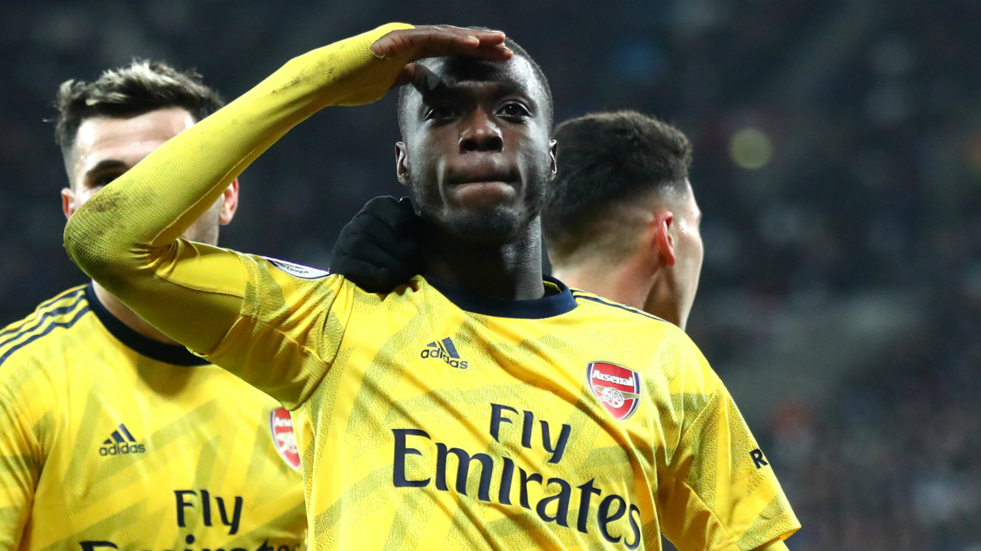 'There are encouraging signs of Arsenal under Arteta' - Nicolas Pepe