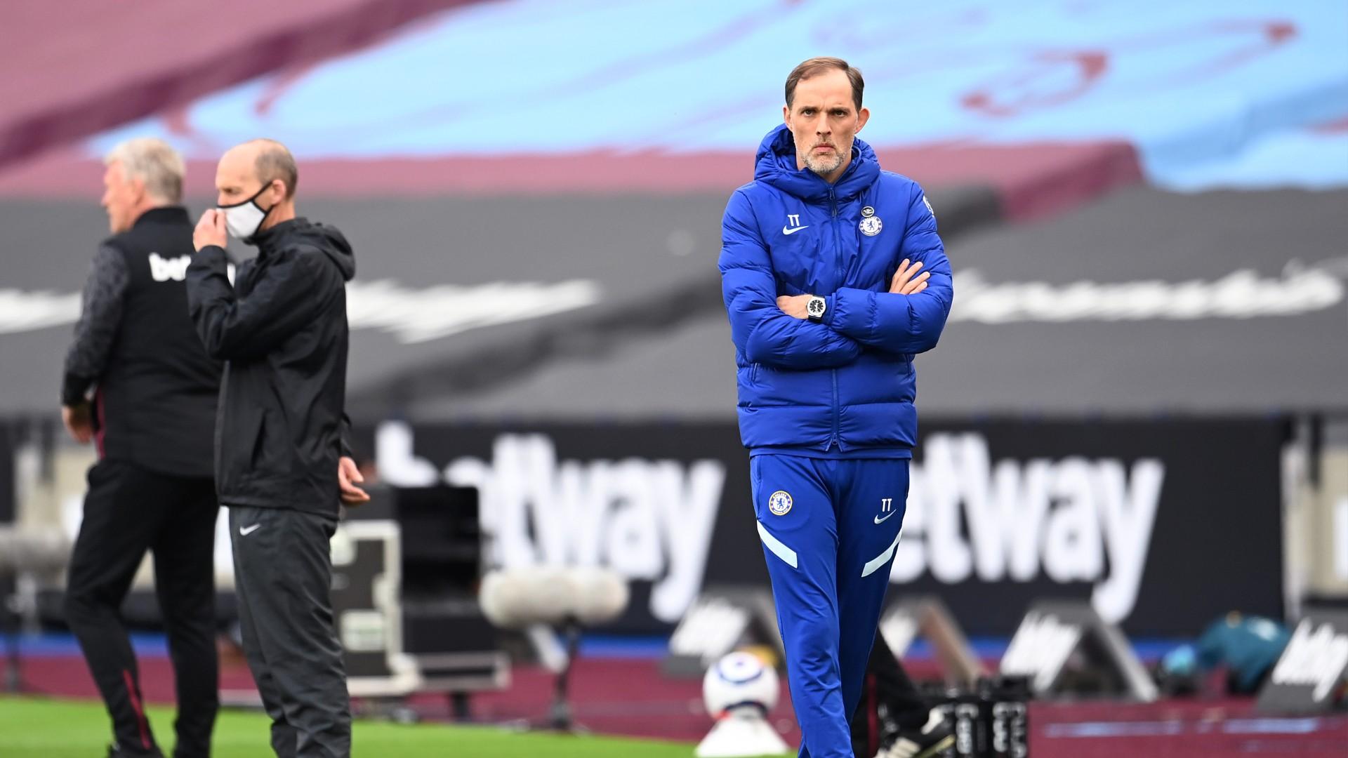 Thomas Tuchel Chelsea West Ham 2020-21