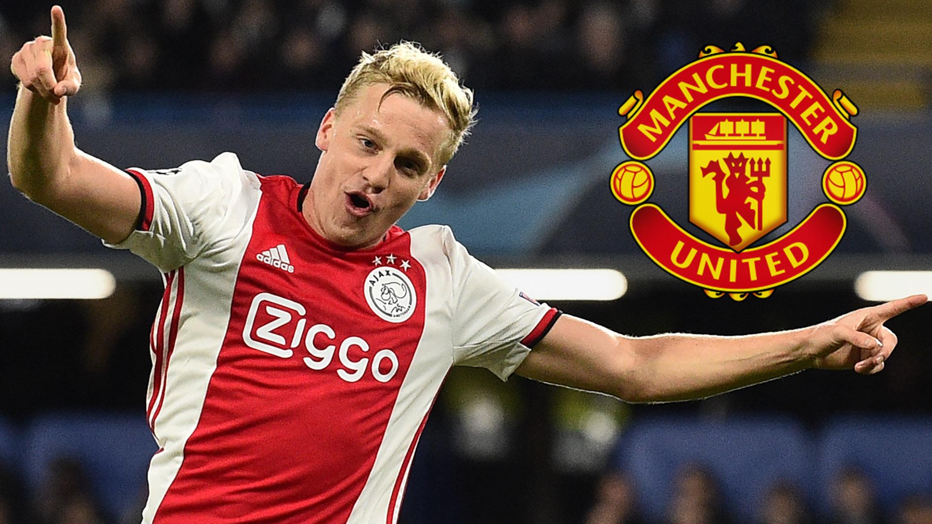 Transfer News And Rumours Live Man Utd Looking To Beat Real Madrid To Van De Beek Goal Com