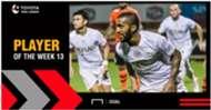 Toyota Thai League Player of the Week 13 : เอเวอร์ตัน กอนซัลเวส
