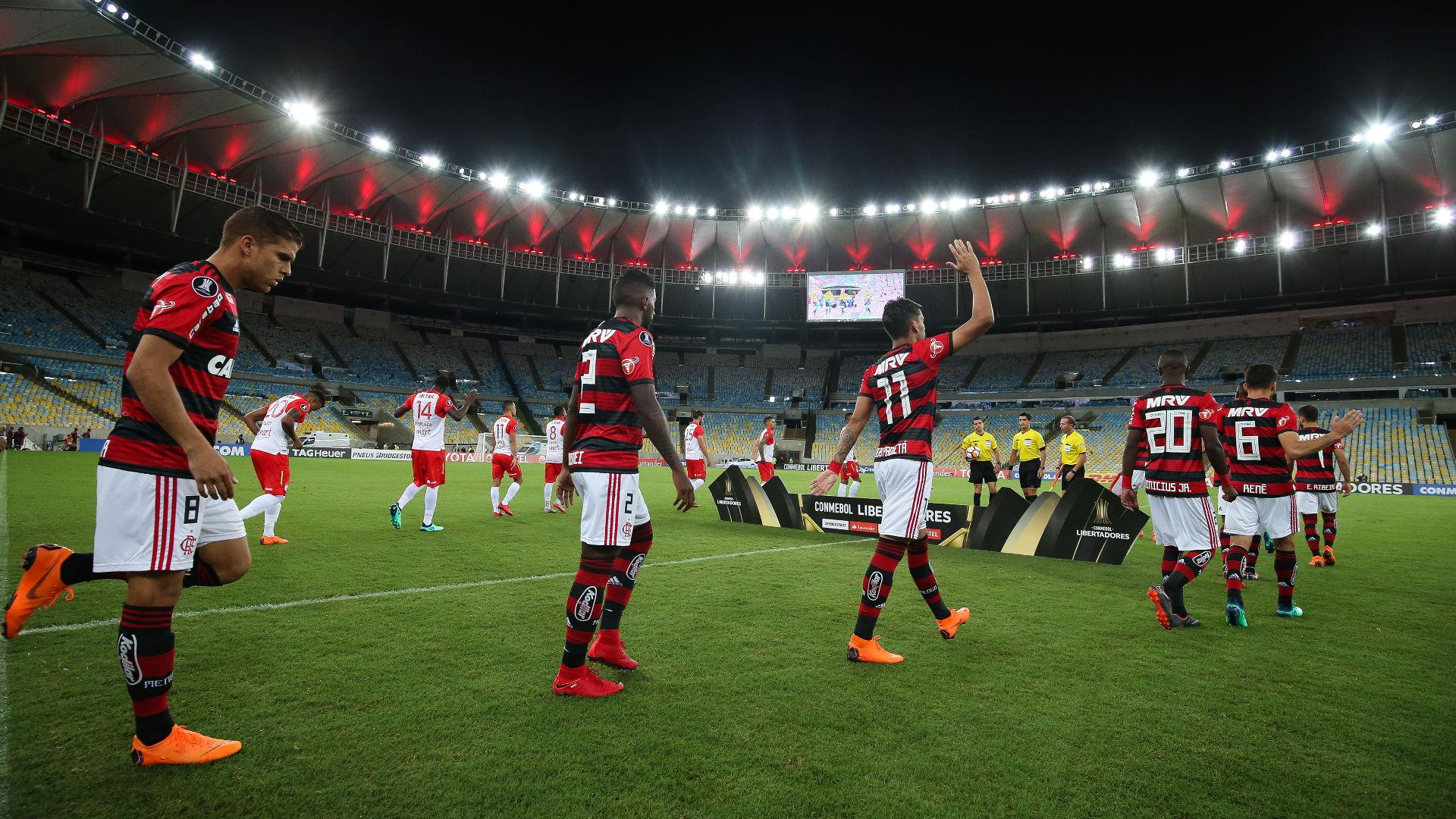 Maracana Flamengo Santa Fe 18042018 Copa Libertadores