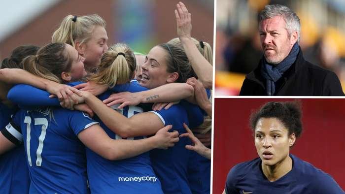 Willie Kirk Valerie Gauvin Everton Women's Super League GFX