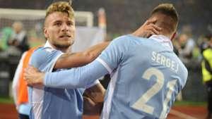 Milinkovic-Savic Immobile Roma Lazio Coppa Italia