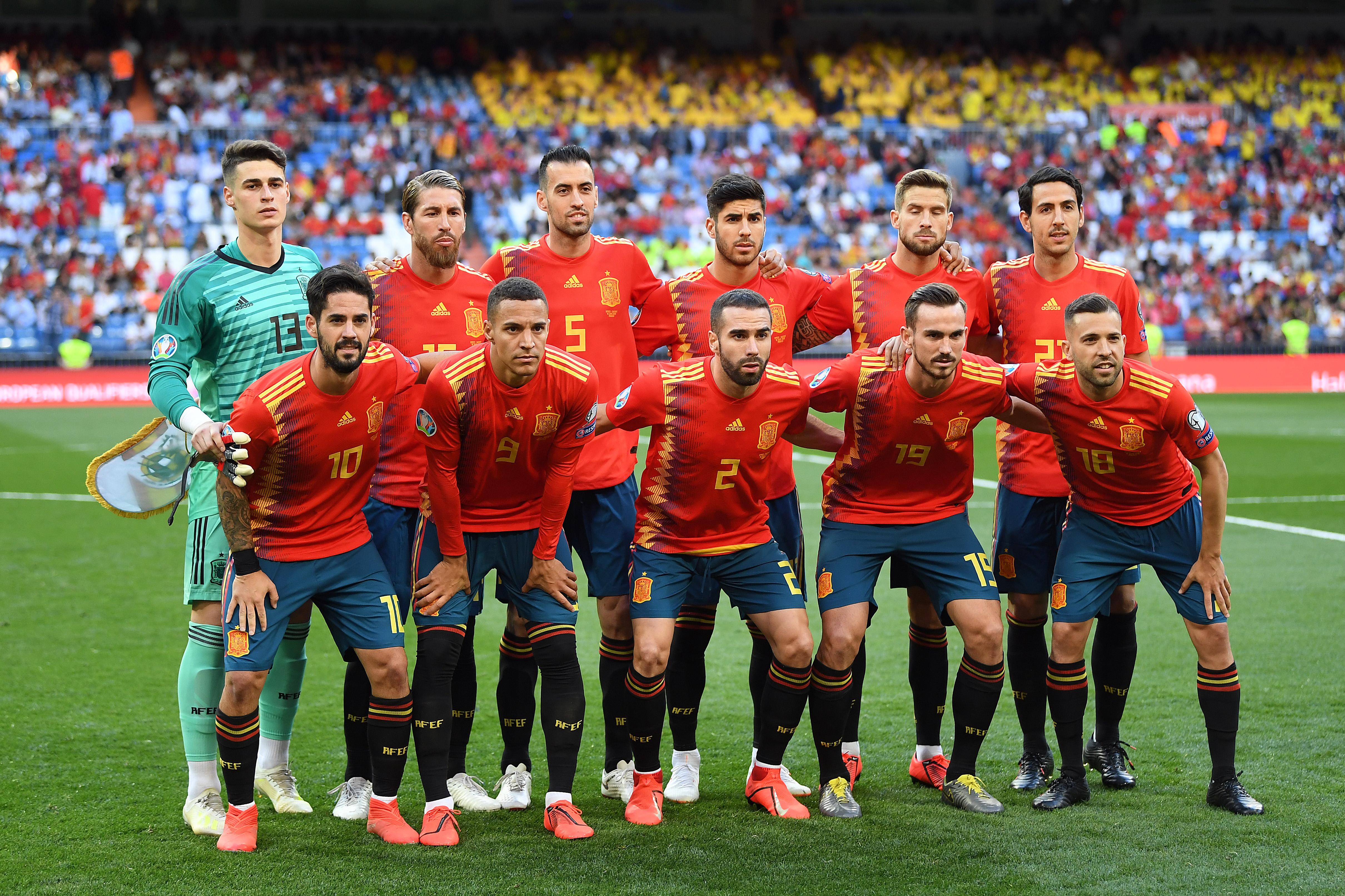 espana mundial 2020 partidos