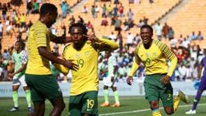 Percy Tau, Lebo Mothiba - South Africa vs. Nigeria