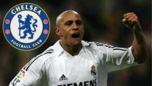 Roberto Carlos Real Madrid Chelsea GFX
