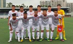 U18 Vietnam Hong Kong U18 International Championship 2019