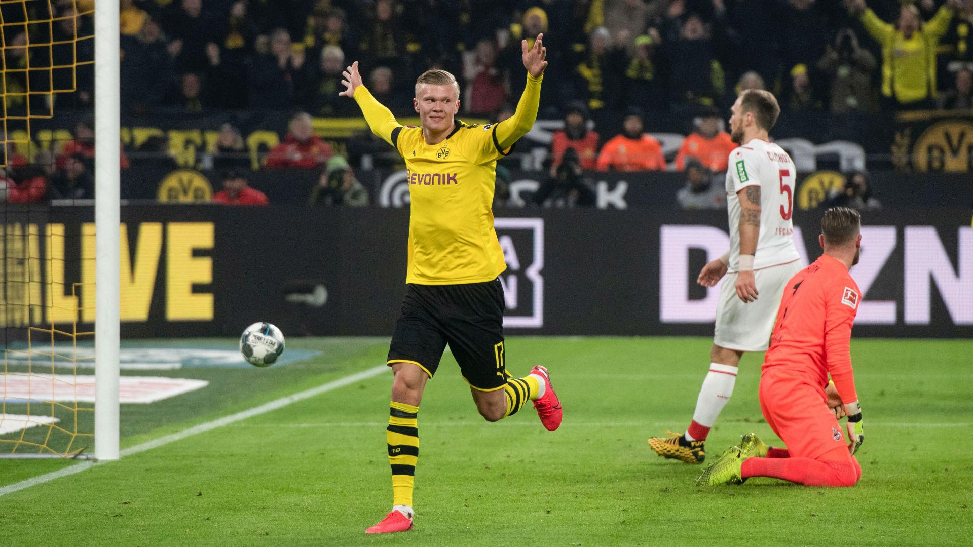"Dortmund, Favre : ""Haaland ? On ne peut pas le freiner"""