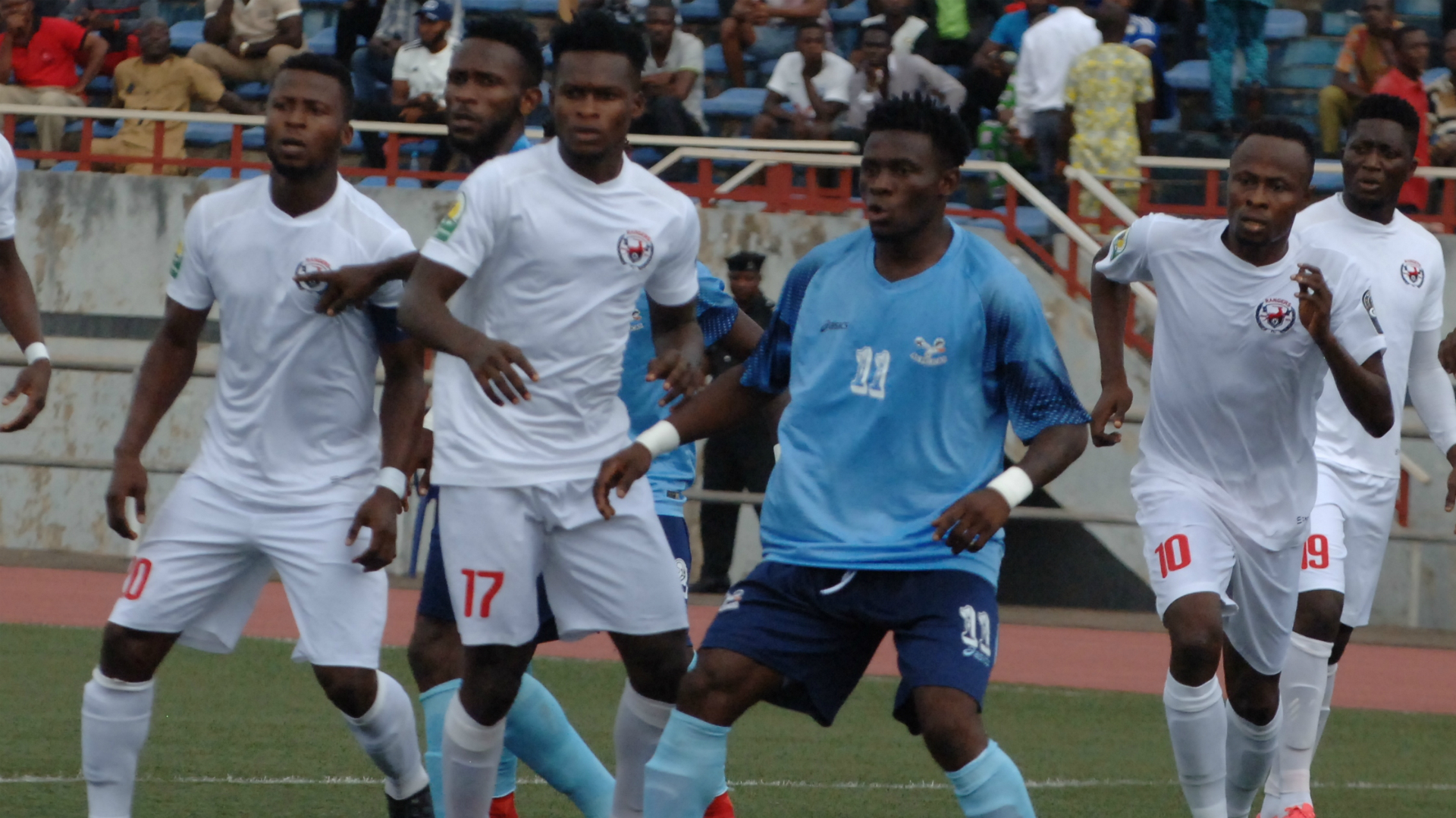 WATCH: Enugu Rangers end Pyramids' juggernauts