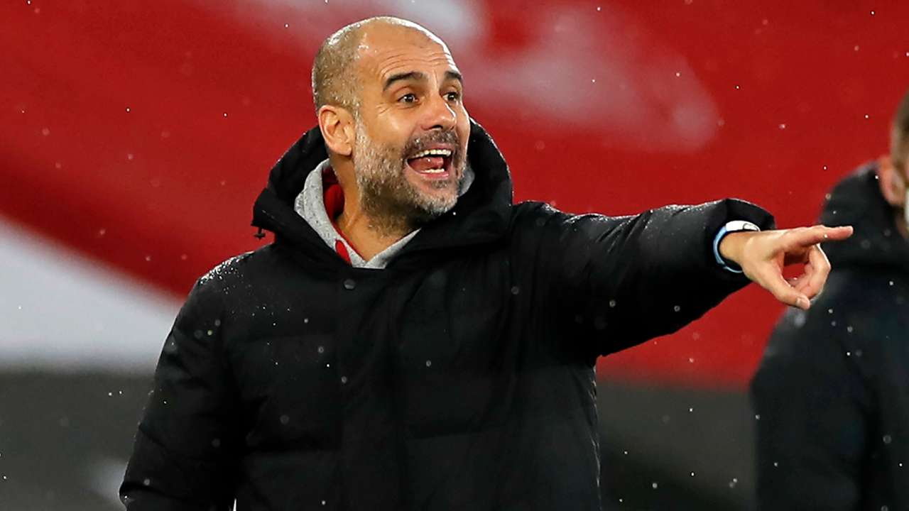 Pep Guardiola Manchester City 2020-21