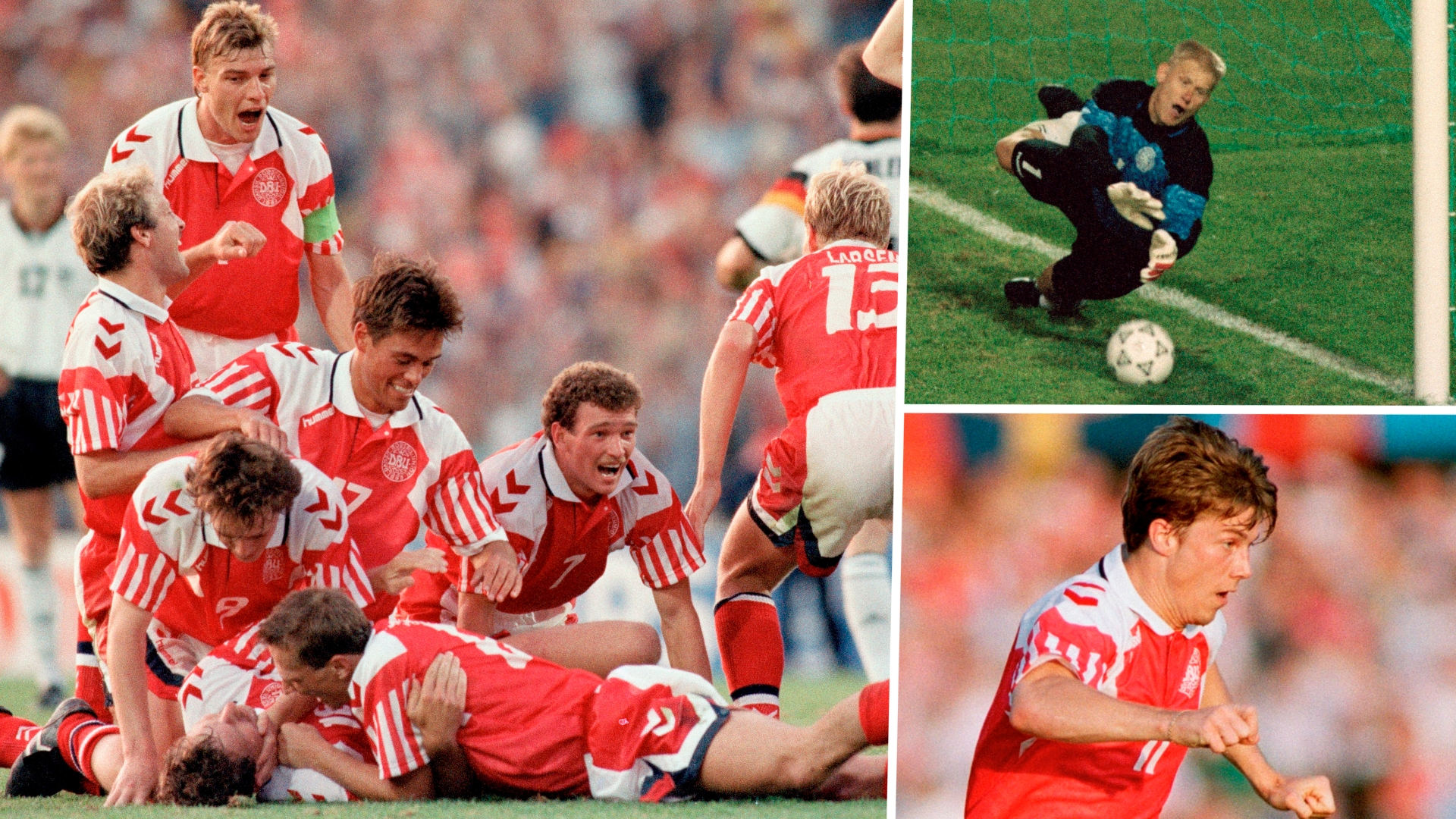 Denmark Euro 92 champions: Squad, how they qualified and how they shocked Europe to win
