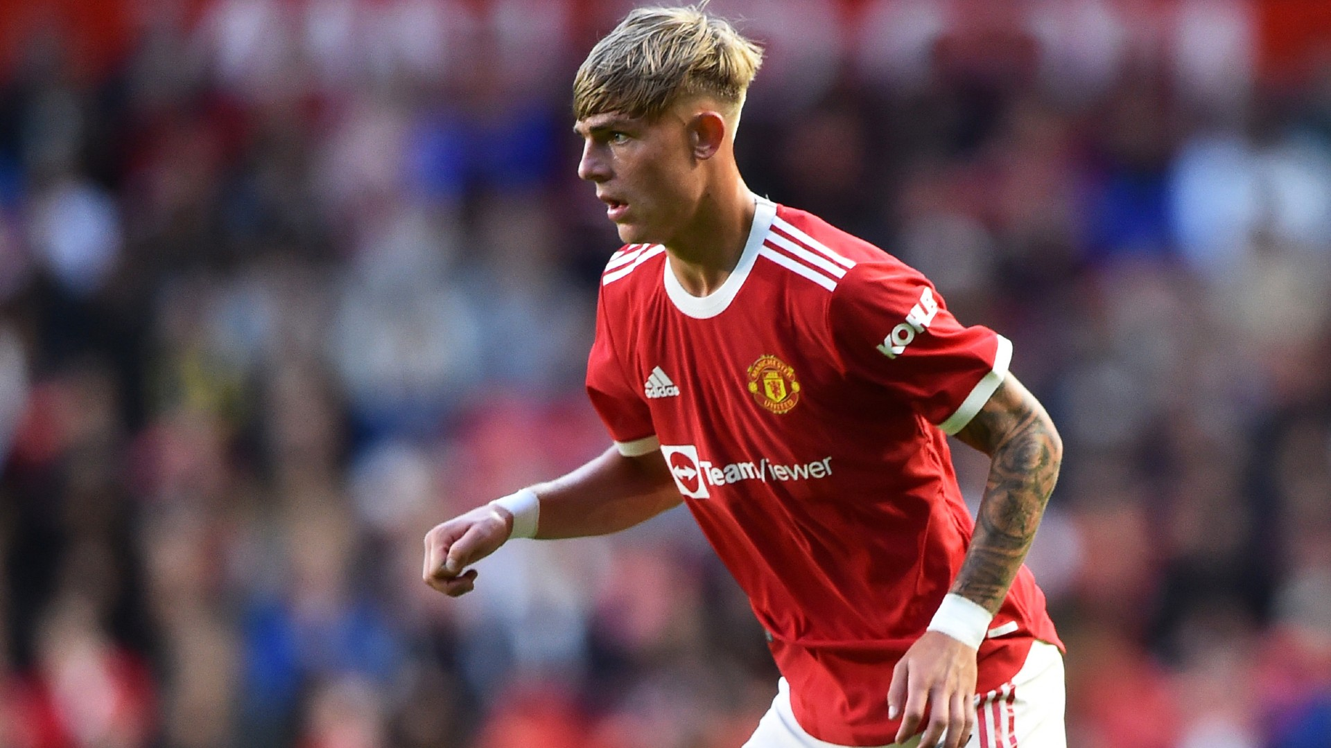 Man Utd left-back Williams joins Norwich City on loan for duration of 2021-22 campaign