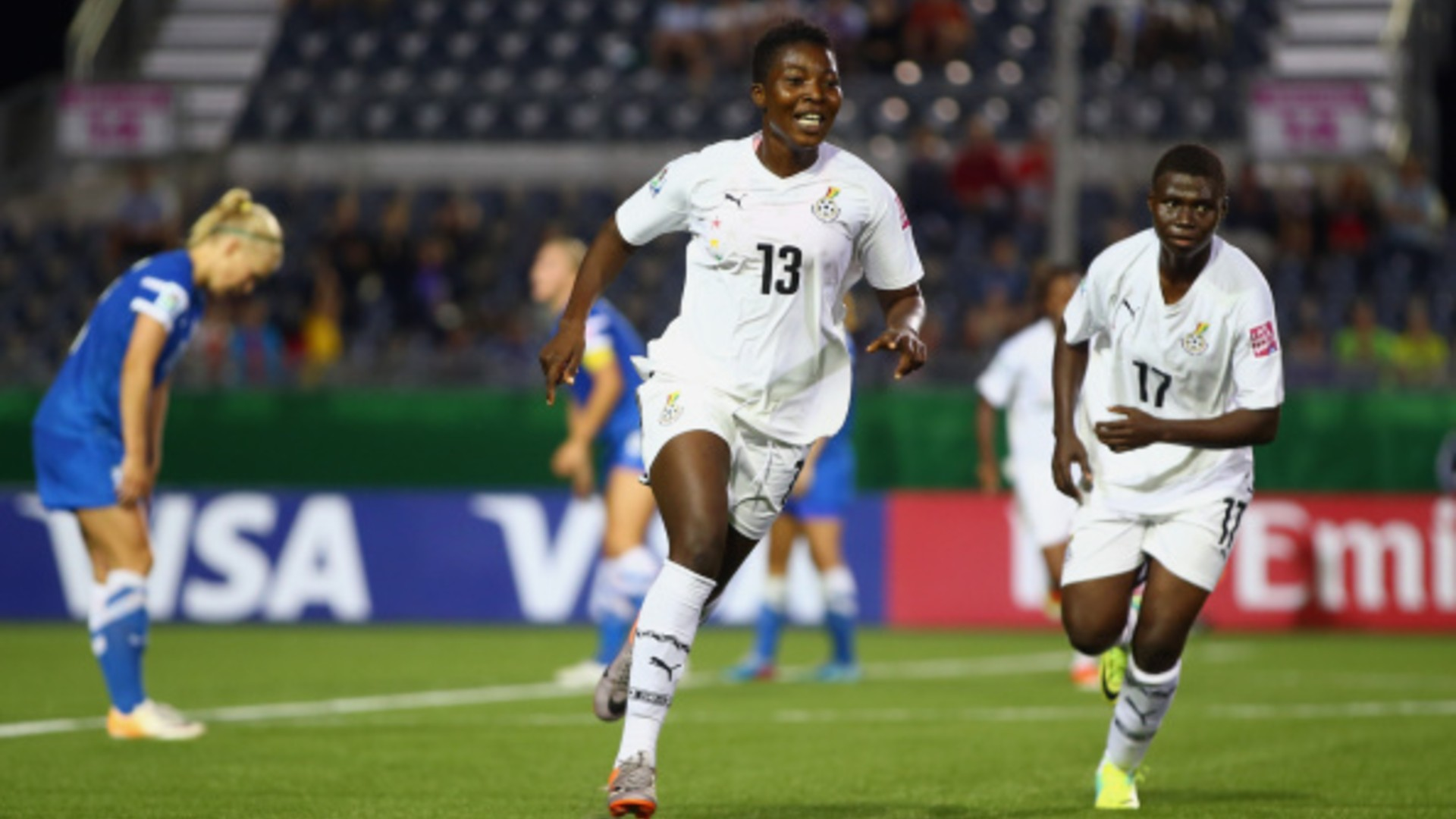 Jennifer Cudjoe: Ghana midfielder joins Estella Johnson at Sky Blue