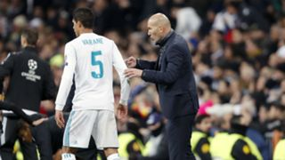 Raphael Varane Zinedine Zidane Real Madrid