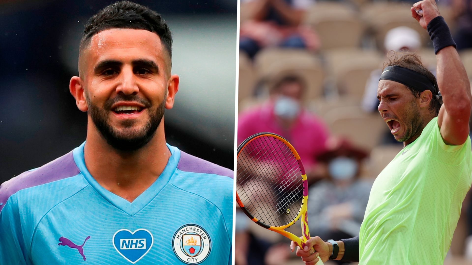 'When you win, you have to try to win again' - Man City star Mahrez reveals Nadal inspiration