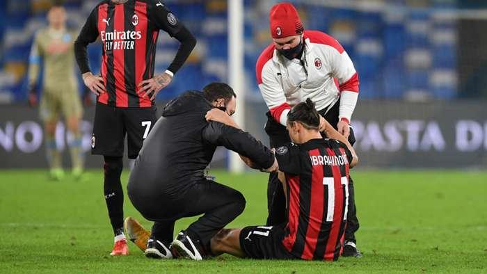Ibrahimovic Napoli Milan Serie A