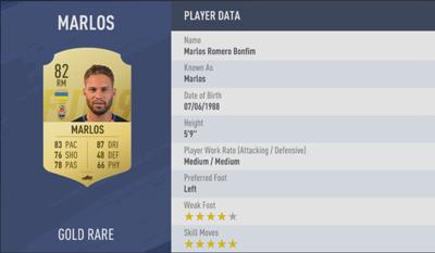 Marlos | FIFA 19